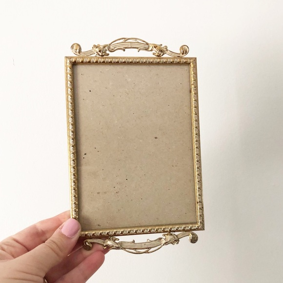 Vintage Retro Gold Wall Hanging Picture Frame